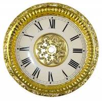Embossed Bezel & Dial Assembly-Bright Finish