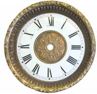 Embossed Bezel & Dial Assembly-Antique Finish