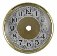 "5-1/8"" Bezel, Arabic Dial, Glass Combination"