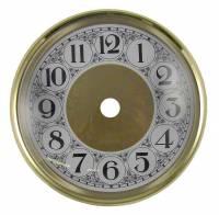 "6-1/4"" Bezel, Arabic Dial, Glass Combination"