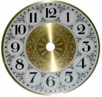 """Dials & Related - Metal Dials - 4-1/2"""" Fancy Aluminum Arabic Dial"""