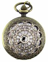 Pocket Watches, Pendant Watches, Watches & Accessories - Pocket Watches, Pendant Watches & Watches - Pendant Watch - Antique Gold Hearts