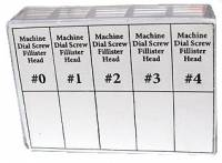 Fasteners - Screws (Inch & Metric Sizes) - 20-Piece Dial Screw Assortment