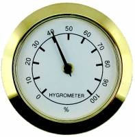 "Clocks, Watches, Timers, Weather Instruments - Weather Instruments & Parts - 1-7/16"" Hygrometer Fit Up"