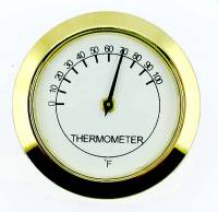 "Clocks, Watches, Timers, Weather Instruments - Weather Instruments & Parts - 1-7/16"" Thermometer Fit Up"