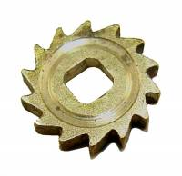 Wheels & Wheel Blanks, Motion Works, Fans & Relate - Ratchet Wheels & Intermediate Wheels - Carriage Clock Ratchet Wheel  14 Tooth