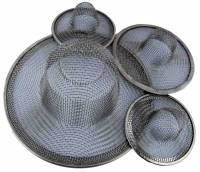 General Purpose Tools, Equipment & Related Supplies - Parts Baskets for Cleaning - 4-Piece Wire Mesh Sink Trap Set