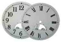 Metal Dials - Arch Dials, Moon Dials and Discs - Arabic Moon Dial  7-3/4