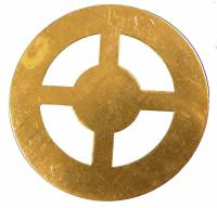 Clock Repair & Replacement Parts - Wheels & Wheel Blanks, Motion Works, Fans & Relate - Brass Wheel Blank  26mm OD