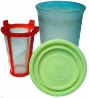 """General Purpose Tools, Equipment & Related Supplies - Parts Baskets for Cleaning - 4"""" Cleaning Basket"""