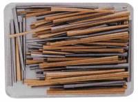 "Steel & Brass 140-Piece 1"" Taper Pin Assortment"