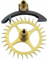 Verges & Verge Components - Verges - Verge & 30T Escape Wheel