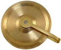 Clock Repair & Replacement Parts - Weight Pulleys, Pulley Covers, S-Hooks, etc. - Willard Banjo Pulley 1-3/8""