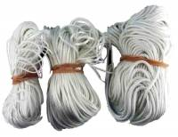Weight Cord & Rope, Wire Cable & Guards, & Gut - Weight Cord & Rope - 3-Piece Braided Weight Cord Assortment
