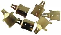 Pendulum Rods & Rod Components - Pendulum Rod Hangers & Hooks - Hermle Style Pendulum Top Hook  6-Pc Asst.
