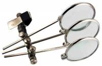 Optical - Eye Loupes - 9.9X Clip On Triple Eye Loupe