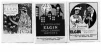 Clearance Items - Elgin Poster Stamp Set