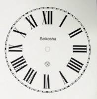 "Clearance Items - Seikosha Peel-And-Stick 5"" Roman Dial"