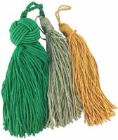 Case Parts - Tassels - 3-Piece Tassel Assortment