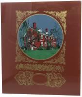 "Clearance Items - Berkeley Plantation 12"" X 14"" Multicolor Glass"