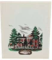 "Clearance Items - J.C. Brown Residence 12"" x 14"" Full Color Glass"