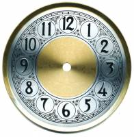 "Clock Repair & Replacement Parts - Dials & Related - 6-3/8"" Fancy Arabic Dial w/ 5-1/2"" Time Track"